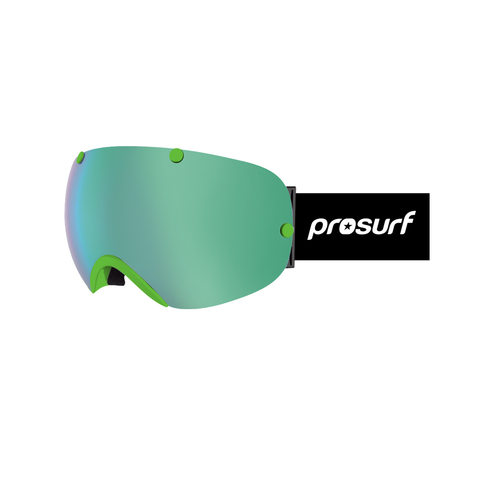 Маска PROSURF 2305 FRAMELESS GOGGLE GREEN