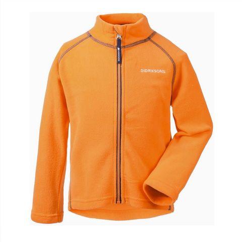 Куртка флис Didriksons Monte kids 502008-156 (морковный)