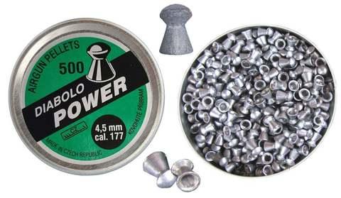 Кулі пневматичні Kovohute Diabolo Power 4,5 мм (0,177