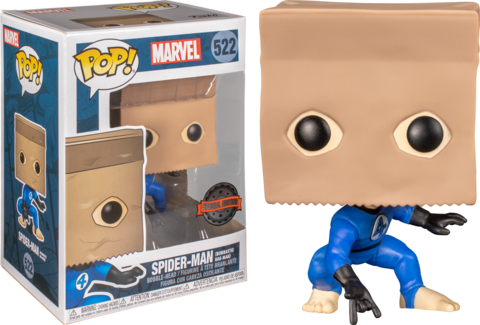 Spider-Man Bombastic Bag-Man Special Edition  Funko Pop! Vinyl Figure || Человек-Паук с пакетом на голове