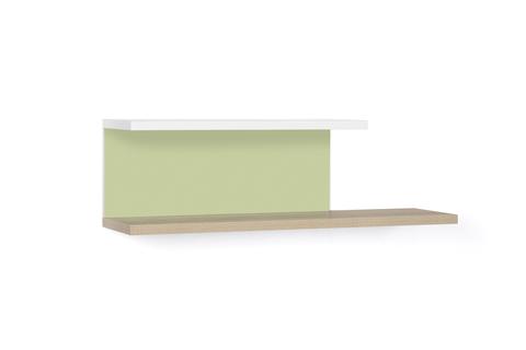 Полка LX 51 зеленый-принт