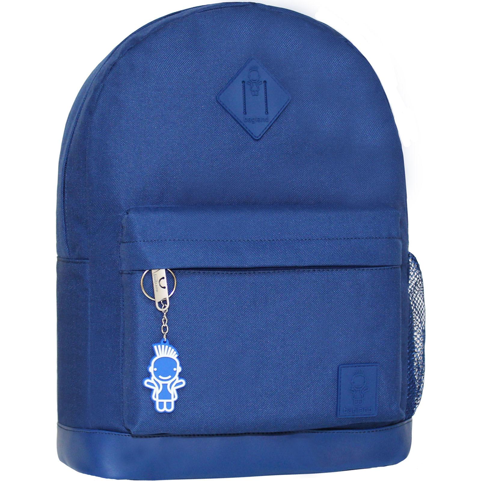 Городские рюкзаки Рюкзак Bagland Молодежный (кожзам) 17 л. Синий (00533663) IMG_3890.JPG