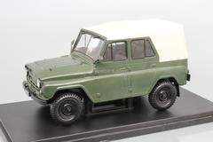 UAZ-469B khaki 1:24 Legendary Soviet cars Hachette #16