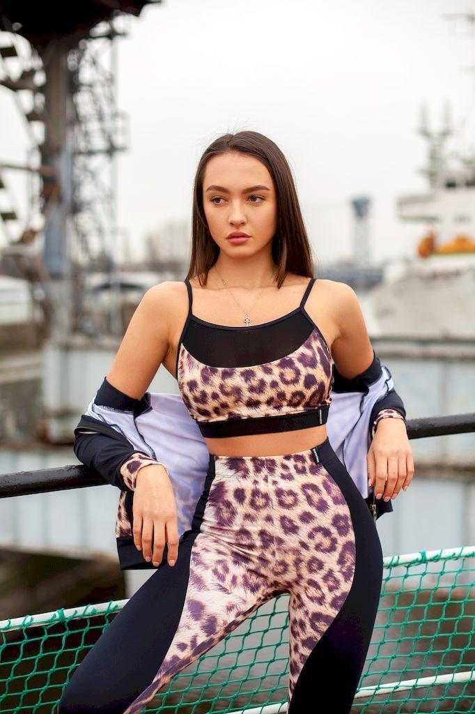 Лосины True Leopard