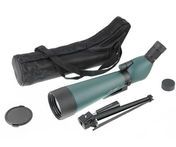 Комплект Veber Snipe Super 20-60x80: труба, защитные крышки, штатив, футляр