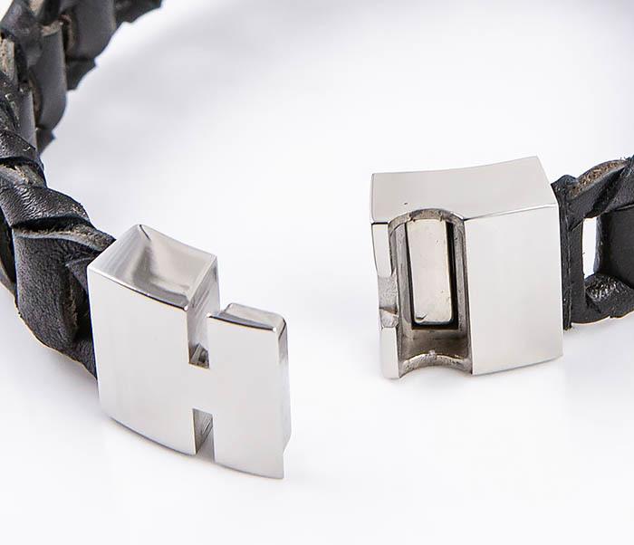 BL780-1 Оригинальный браслет со звеньями из натуральной кожи фото 03