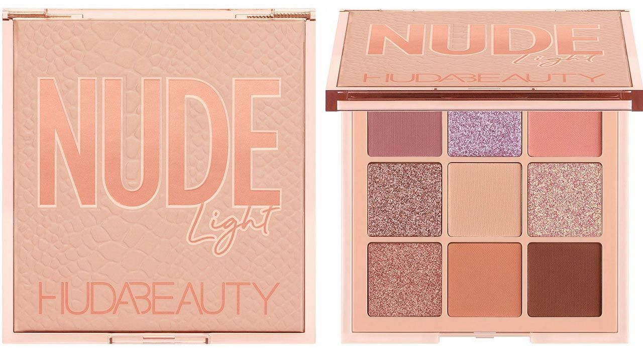 HUDA BEAUTY Obsessions Nude Light палетка теней
