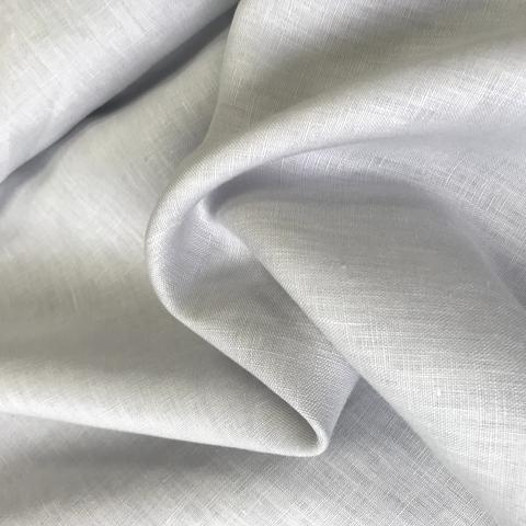 Ткань лен светло-серый 3289