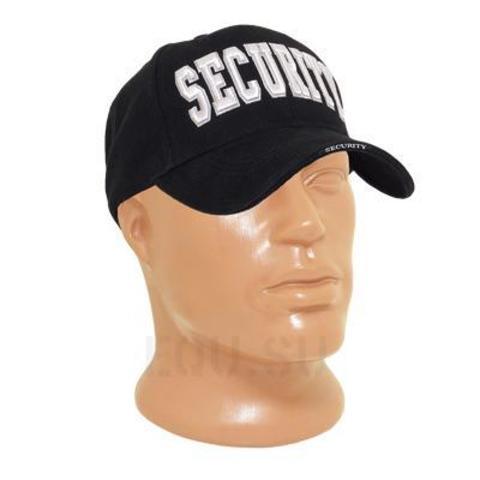 Кепка Deluxe 'Security' Black