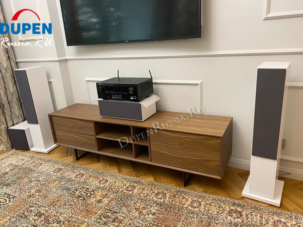 ТВ тумба DUPEN TV-131 орех (walnut)