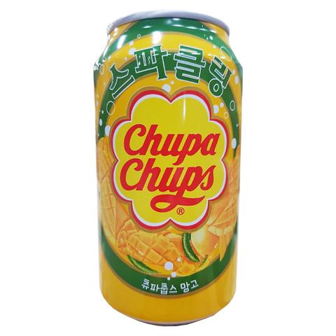 Газированный напиток Chupa Chups Mango со вкусом манго, 345 мл