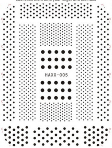 Наклейка силиконовая HAXX-5