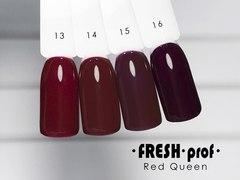 Гель лак Fresh Prof Red Queen 10мл R14