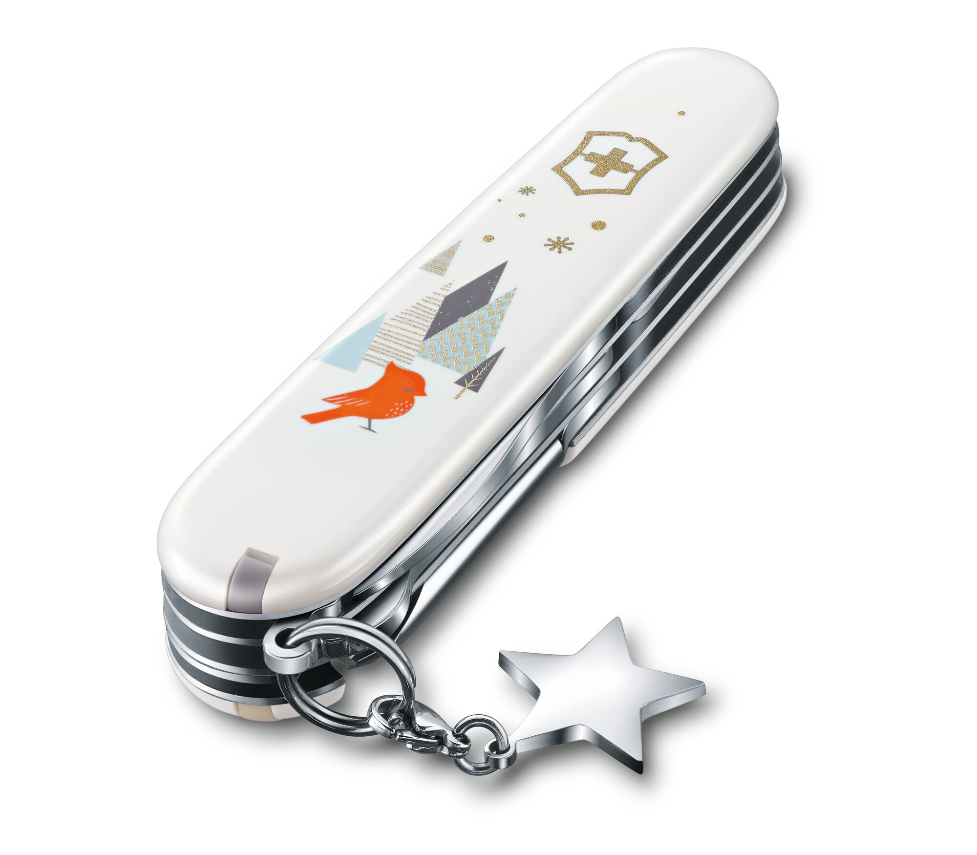 Складной коллекционный нож Victorinox Super Tinker Winter Magic Special Edition 2019 (1.4703.7E1) - Wenger-Victorinox.Ru