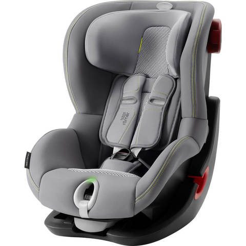 Автокресло Britax Roemer King II LS Cool Flow Silver