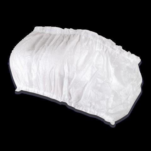 Топик с открытой спиной на 2-х резинках из нетк. материала (уп. - 5 шт.)