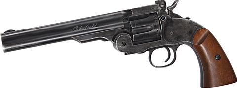 Пневматический револьвер Скофилд 6