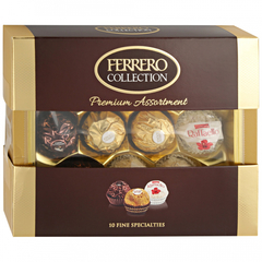 КОНФЕТЫ FERRERO COLLECTION (PRENIUM ASSORTMENT )