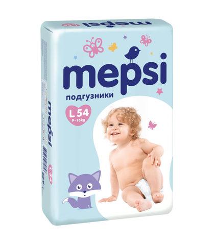 Подгузники Mepsi,  9-16 кг (L)