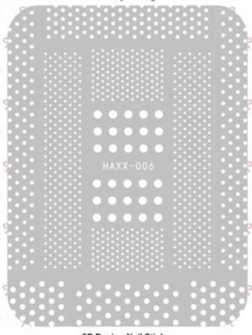 Наклейка силиконовая HAXX-6