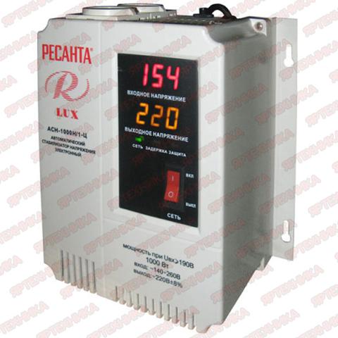 Стабилизатор АСН-1 000 H/1-Ц Lux Ресанта
