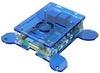 Корпус для Raspberry Pi 4 с креплением VESA (LT-4B17 / акрил / синий)