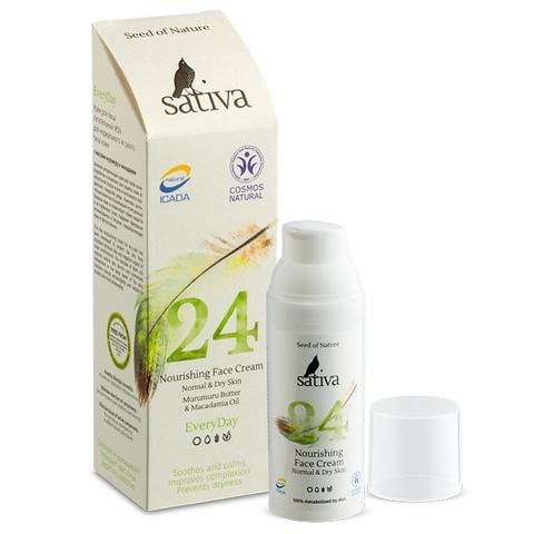 Крем для лица питательный №24 | 50 мл | Sativa