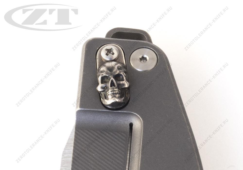 Нож Hinderer Custom Jurassic Skull - фотография