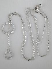 0320296 -0,9-1,3(серебряная цепочка с подвеской)