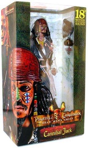 Пираты Карибского моря фигурка Джек Воробей Сундук мертвеца