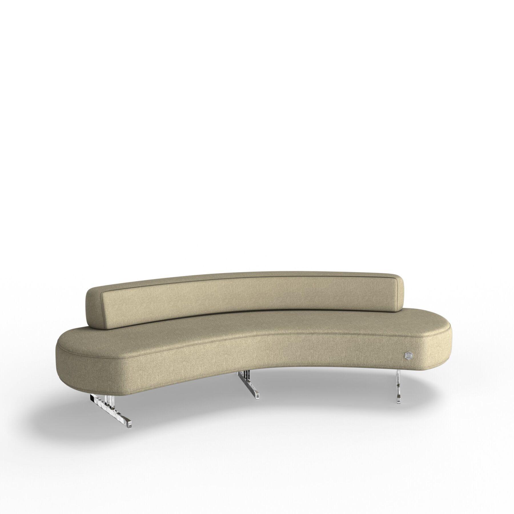 Трехместный диван KULIK SYSTEM FLEX_25 Ткань Целый