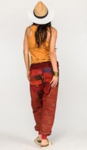 Цветные тайские штаны Рейнутрия