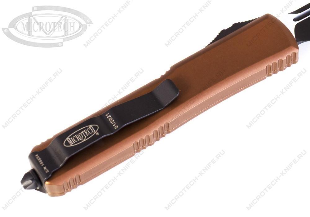 Нож Microtech Ultratech Black 123-1TA - фотография