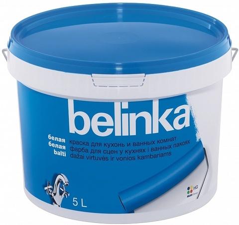 Belinka краска для кухонь и ванных комнат