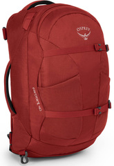 Сумка рюкзак Osprey Farpoint 40 Jasper Red