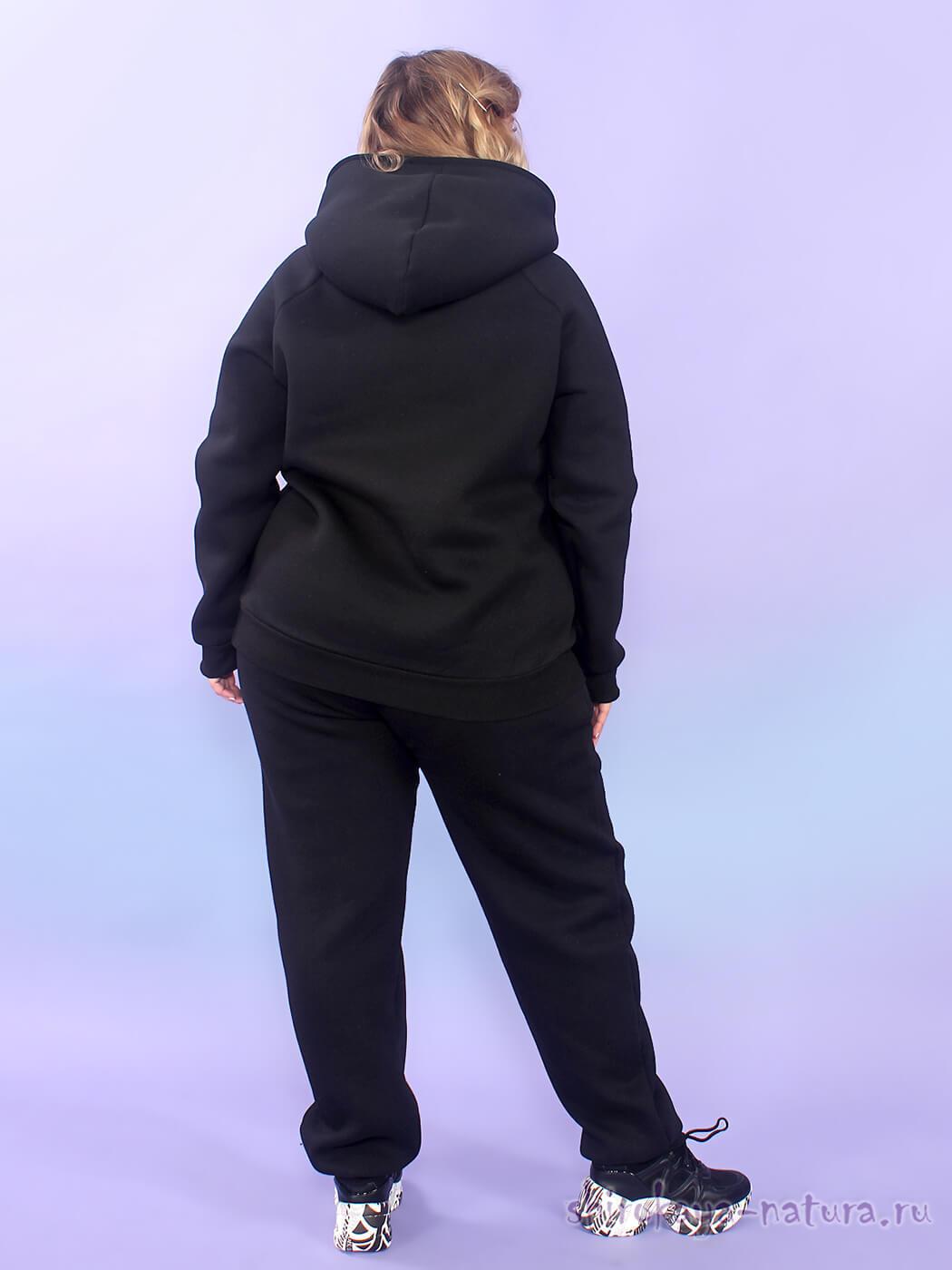 Тёплый костюм из футера с начёсом Кроссовки