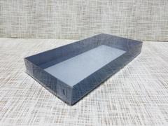 Коробка 26х13х3 см, картон, с прозрачной крышкой,