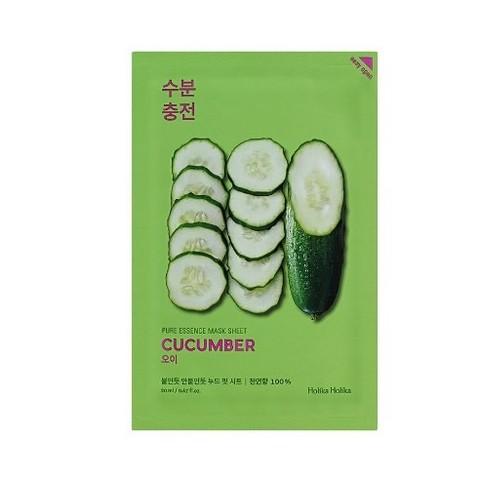 Holika Holika Pure Essence Mask Sheet Cucumber тканевая маска для лица Огурец, 20 мл