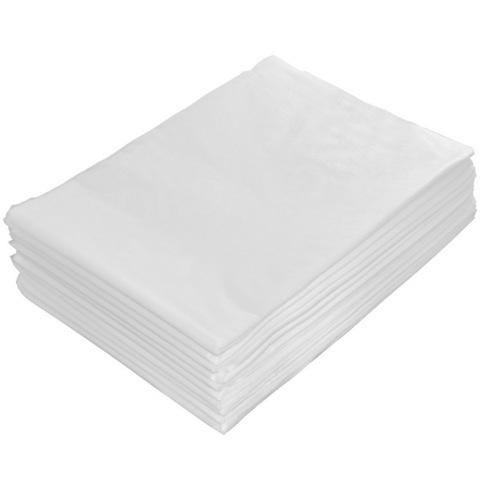 Простыня спанбонд ламинированный 35 г/м2 белый 200*80 см 10 шт. в упаковке