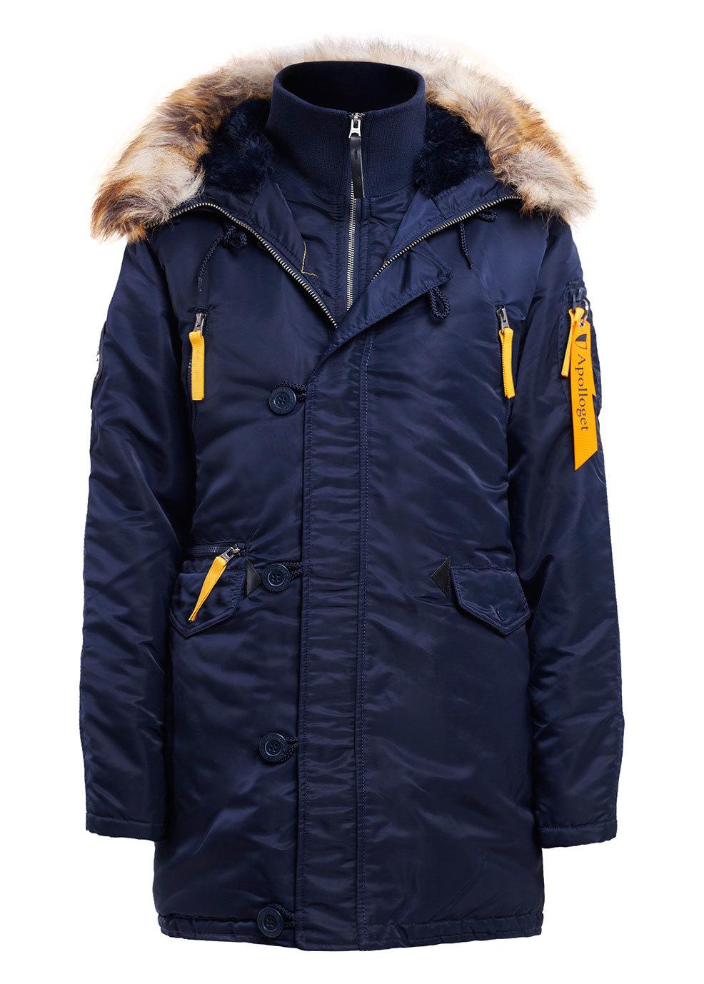 Куртка Аляска Женская - Apolloget Alaska Wmn (т.синяя/желтая - r.blue/yellow)