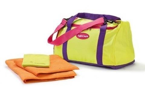 Большое спортивное полотенце 136см х 61,5см и спортивная сумка