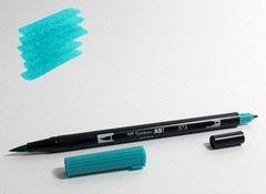 Маркер-кисть Tombow ABT Dual Brush Pen-373, синее море