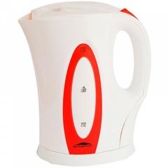 Чайник электрический 2л Эльбрус-4 белый с красным