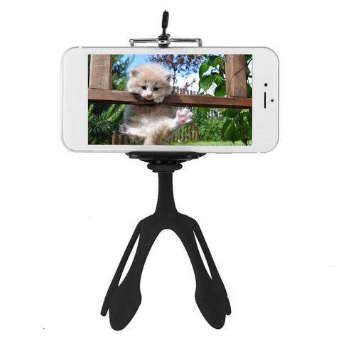 Гибкий универсальный держатель штатив Гекко  подставка для мобильного телефона и камеры