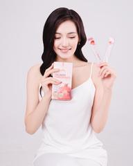 K-Beauty Коллагеновое желе в стиках с Гранатом Collagen Pomegranate Jelly Sticks, 9 уп. * (20 г*10 шт.)