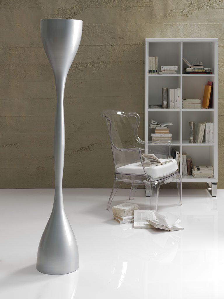 Торшер LF-3262-S1 Silver
