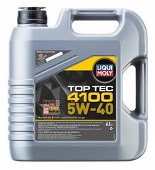 7547 LiquiMoly НС-синт.мот.масло Top Tec 4100  5W-40 SN/CF;A3/B4/C3 (4л)