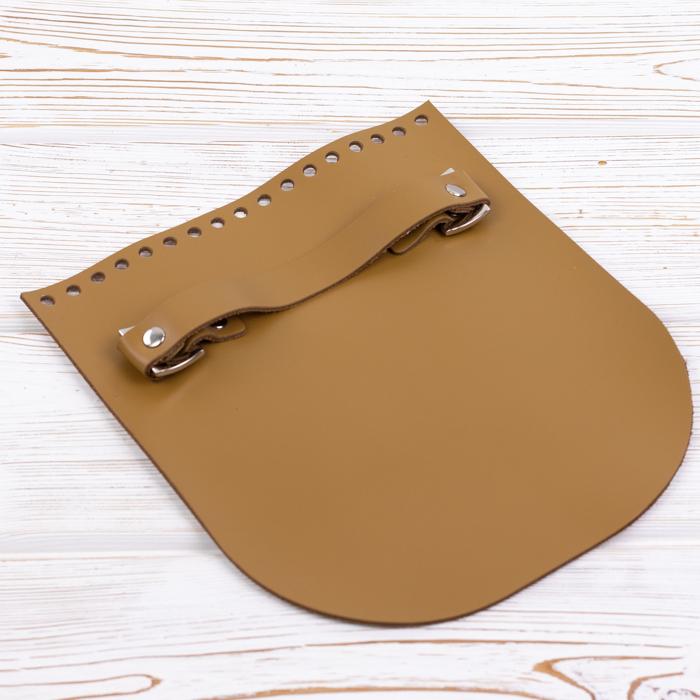 """Вся фурнитура Клапан для сумочки с ручкой кожаный """"Мёд"""" IMG_8911.jpg"""