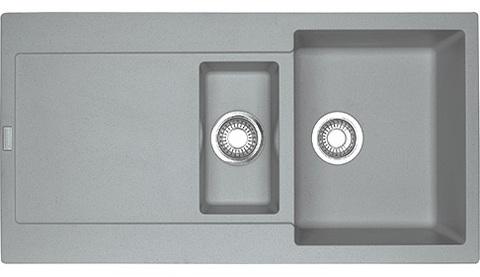 Кухонная мойка Franke Maris MRG 651, серый камень