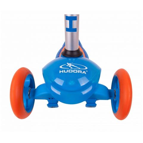 Трехколесный самокат Hudora Flitzkids 2.0 blue